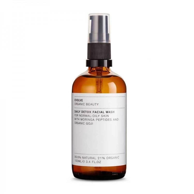 Evolve Organic Beauty Daily Detox Facial Wash - 100ml Bodycare