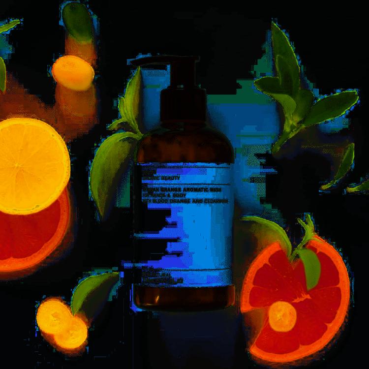 Evolve Organic Beauty African Orange Aromatic Wash 250ml Bodycare