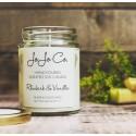JoJo Co Candles Rhubarb & Vanilla 45hrs Fragrance