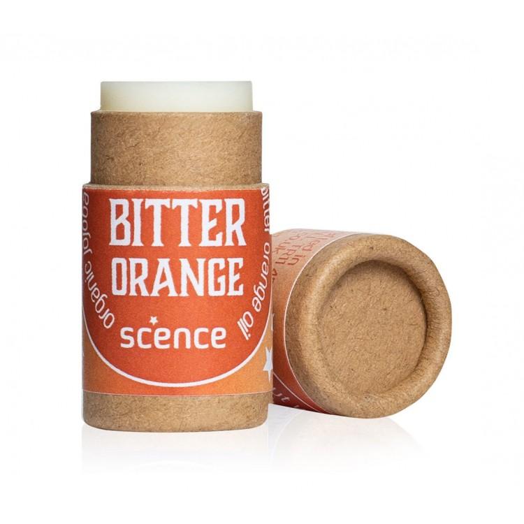 Scence Bitter Orange Lip Balm Plastic Free