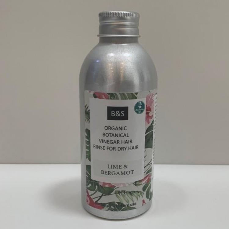 Bain and Savon Organic Apple Cider Vinegar Hair Rinse - 150ml Dry Hair Bodycare
