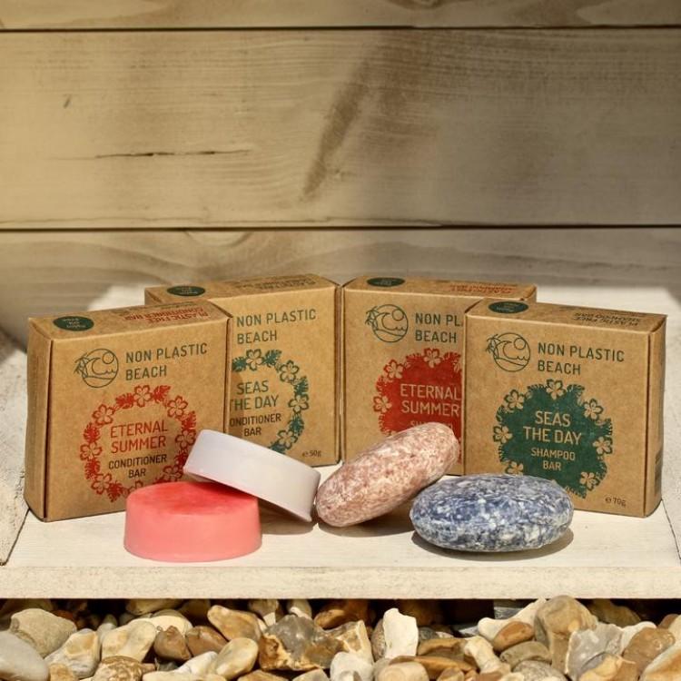 Non Plastic Beach - Plastic Free Shampoo Bar Eternal Summer - 70g Bodycare