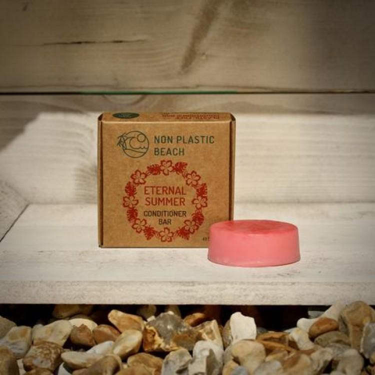 Non Plastic Beach - Plastic Free Conditioner Bar Eternal Summer - 50g Hair Care