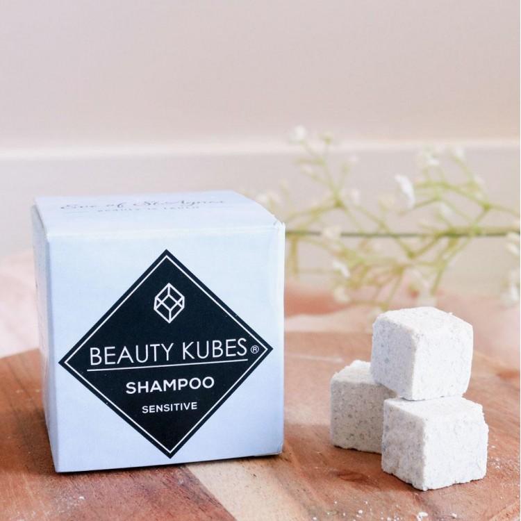 Beauty Kubes Plastic Free Shampoo for Sensitive Skin: 27 Organic Kubes Bodycare