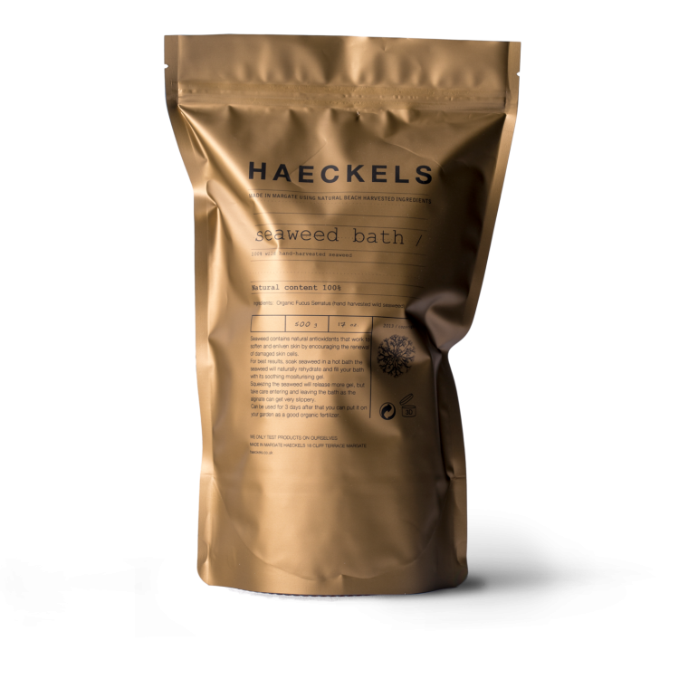 Haeckels Traditional Seaweed Bath 500g Bodycare