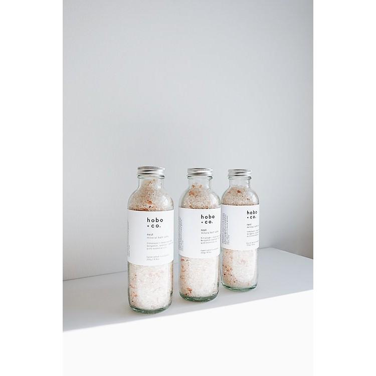 Hobo Rest Mineral Bath Salts (De stress & Unwind) 250g Bodycare