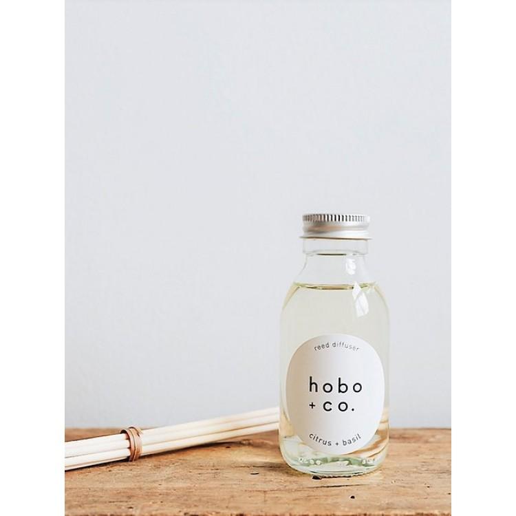 Hobo Citrus & Basil Reed Diffuser 100ml Fragrance