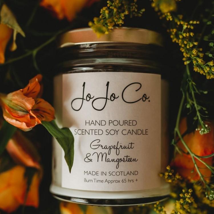 Jo Jo Co Candle Grapefruit & Mangosteen 45hrs Fragrance