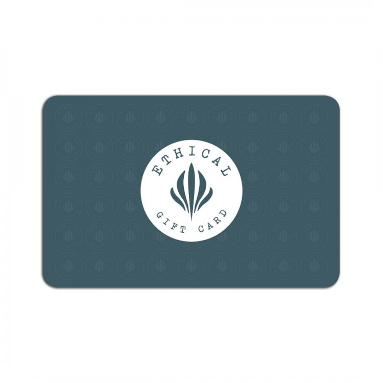 Ethical Apothecary Plastic Free Gift Card