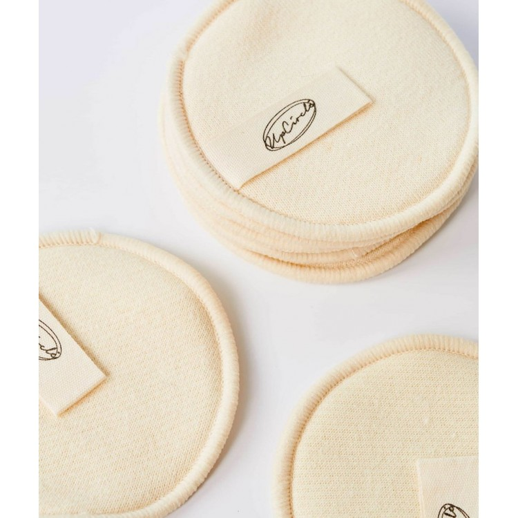 UpCircle Hemp and Cotton Reusable Makeup Pads: 7 in a pack Plastic Free